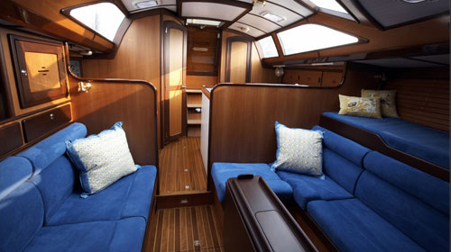 Maritime Cabin Sole Flooring Custom Yacht Interior Solid Teak Holly Flooring Teak Tables
