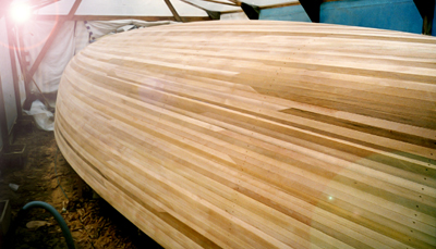Speed Strip Planking For Wooden Boat Hull Construction