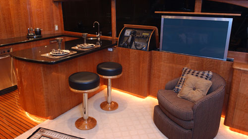 Maritime Custom Veneers Teak Veneer Yacht Interiors And
