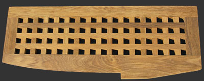 Teak Deck Grating Photo